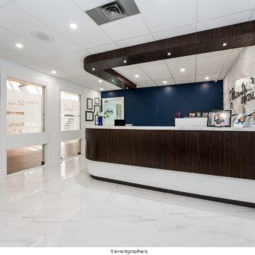 Front View Reception Desk